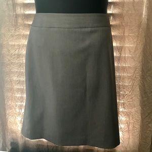 XL Ann Klein Gray Pencil Skirt